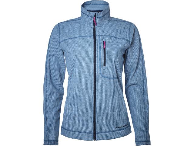 North Bend Aspect Fleece Jacket Damen blue bay